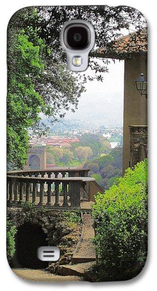 Garden Photographs Galaxy S4 Cases - Garden View Galaxy S4 Case by Ellen Henneke