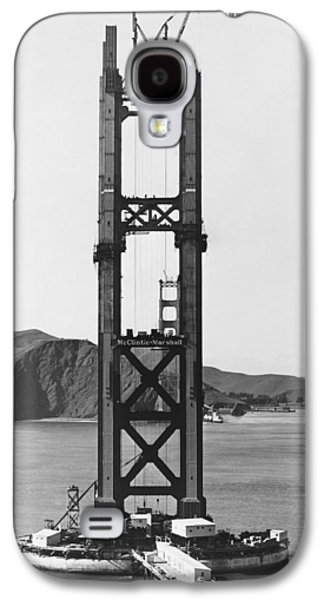 Ggb Tower Under Construction Galaxy S4 Case by Underwood Archives