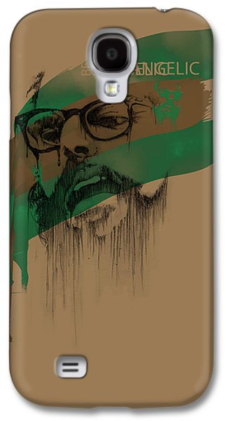 Normal Galaxy S4 Cases - Ginsberg Galaxy S4 Case by Pop Culture Prophet