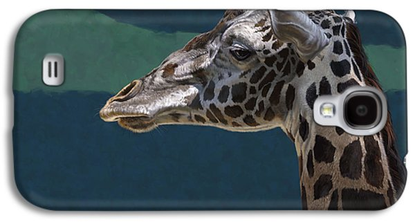 Giraffe Digital Galaxy S4 Cases - Giraffe Galaxy S4 Case by Aaron Blaise