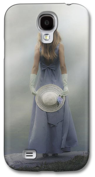 Girl Galaxy S4 Cases - Girl With Sun Hat Galaxy S4 Case by Joana Kruse