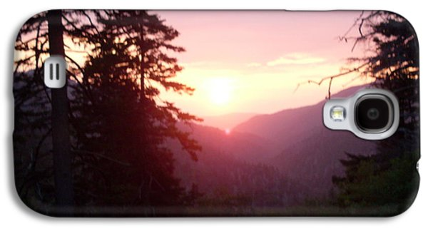 Smokey Mountains Paintings Galaxy S4 Cases - Great Smokey Mountain Galaxy S4 Case by Celestial Images