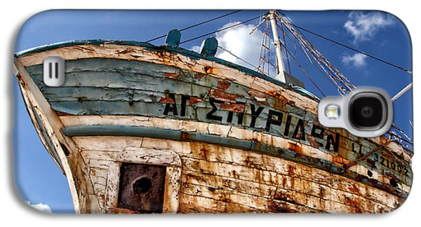 Greek Fishing Boat Galaxy S4 Case by Stelios Kleanthous