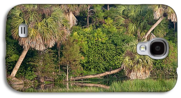 Nature Center Galaxy S4 Cases - Green Cay Wetlands, Fl Galaxy S4 Case by Mark Newman