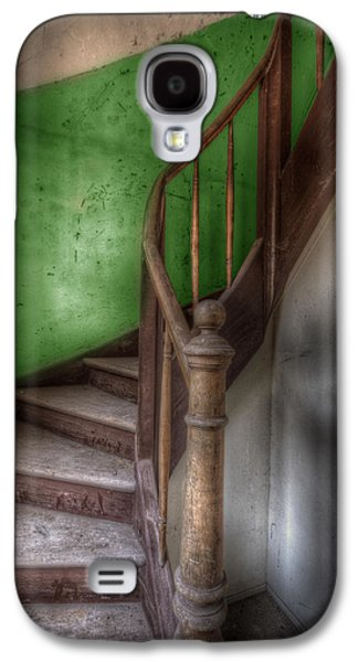 Green Stairs Galaxy S4 Case by Nathan Wright