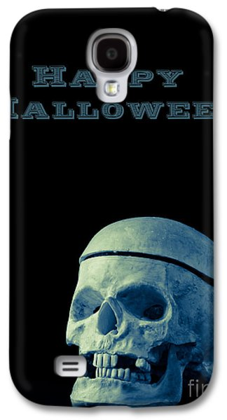 Creepy Galaxy S4 Cases - Happy Halloween Galaxy S4 Case by Edward Fielding