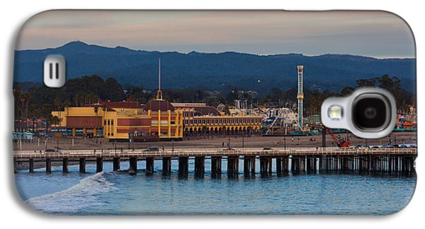 Harbor And Municipal Wharf At Dusk Galaxy S4 Case by Panoramic Images