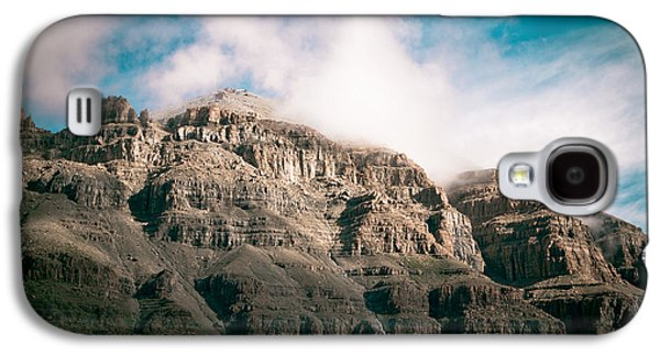 Landscape Acrylic Prints Galaxy S4 Cases - Himalyas mountains in Tibet with clouds Galaxy S4 Case by Raimond Klavins