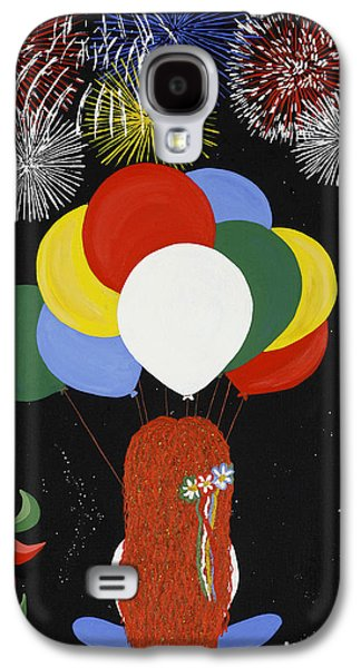 4th July Galaxy S4 Cases - Holiday Magic Galaxy S4 Case by Nathalie Sorensson