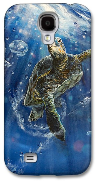 Dream Paintings Galaxy S4 Cases - Honus Dance Galaxy S4 Case by Marco Antonio Aguilar