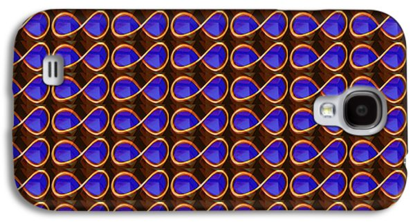 Business Galaxy S4 Cases - INFINITY Infinite SYMBOL Elegant Art and Patterns Galaxy S4 Case by Navin Joshi