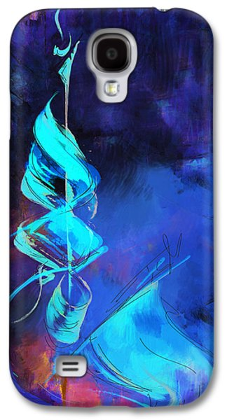 Saudia Paintings Galaxy S4 Cases - Islamic calligraphy Galaxy S4 Case by Catf