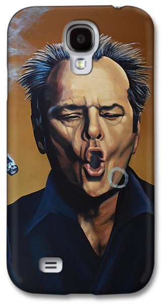 Idol Galaxy S4 Cases - Jack Nicholson Galaxy S4 Case by Paul  Meijering