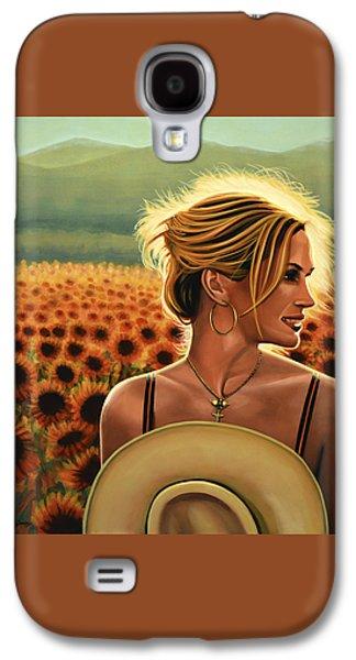Julia Roberts Galaxy S4 Case by Paul Meijering