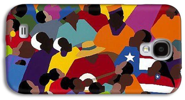 Recently Sold -  - Slavery Galaxy S4 Cases - Juneteenth Galaxy S4 Case by Synthia SAINT JAMES