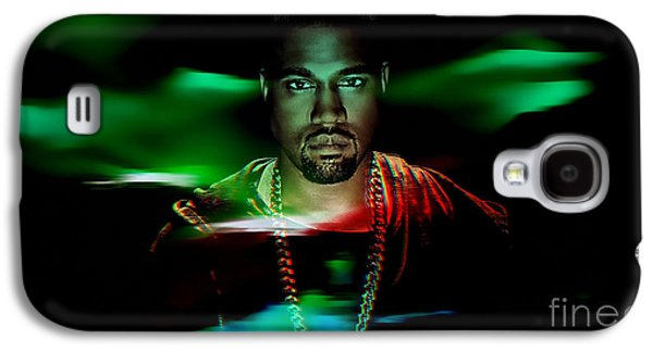 Kanye West Galaxy S4 Cases - Kanye Collection Galaxy S4 Case by Marvin Blaine