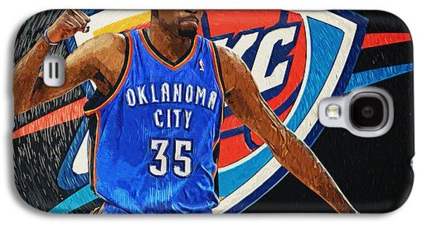 Kobe Bryant Wall Art Galaxy S4 Cases - Kevin Durant Galaxy S4 Case by Taylan Soyturk