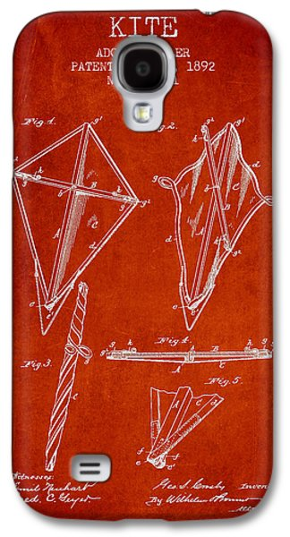 Kite Galaxy S4 Cases - Kite Patent from 1892 Galaxy S4 Case by Aged Pixel