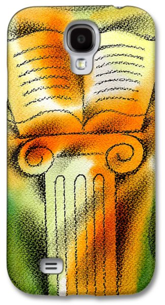 Education Paintings Galaxy S4 Cases - Knowledge Galaxy S4 Case by Leon Zernitsky