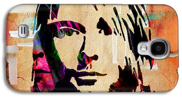 Kurt Cobain Nirvana Collection Galaxy S4 Case by Marvin Blaine