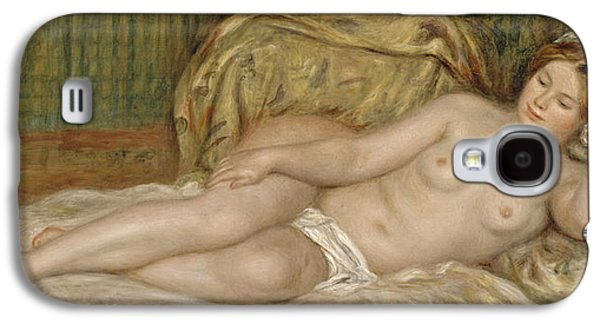 1907 Galaxy S4 Cases - Large Nude Galaxy S4 Case by Pierre-Auguste Renoir