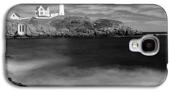 Nubble Lighthouse Galaxy S4 Cases - Lighthouse At A Coast, Nubble Galaxy S4 Case by Panoramic Images