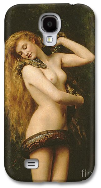 Lilith Galaxy S4 Case by John Collier