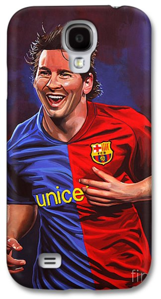 Lionel Messi  Galaxy S4 Case by Paul Meijering
