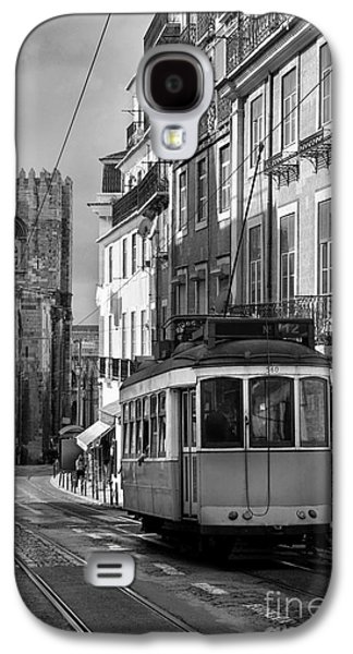 Ancient Galaxy S4 Cases - Lisbon Tram Galaxy S4 Case by Carlos Caetano