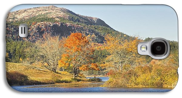 Maine Meadow Galaxy S4 Cases - Long Pond Acadia National Park Mount Desert Island Maine Galaxy S4 Case by Keith Webber Jr