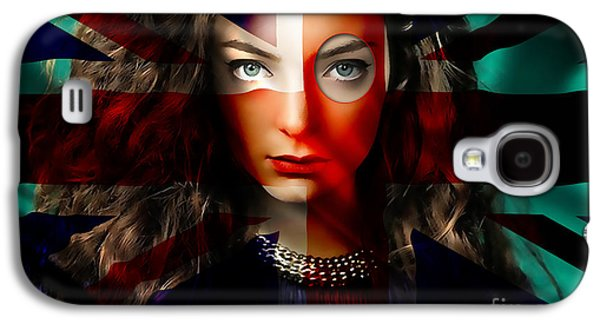 Lorde Galaxy S4 Case by Marvin Blaine