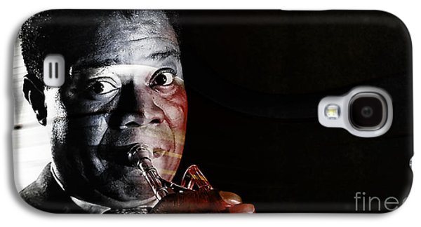 Louis Armstrong Galaxy S4 Case by Marvin Blaine