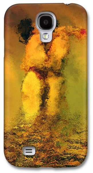 Nudes Digital Galaxy S4 Cases - Lovers Galaxy S4 Case by Kurt Van Wagner