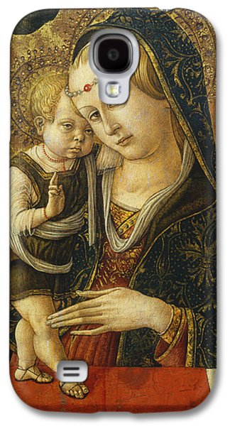 Madonna And Child Galaxy S4 Case by Carlo Crivelli