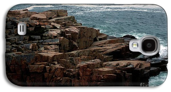 Nature Abstracts Galaxy S4 Cases - Maine Seascape Galaxy S4 Case by Kathleen Struckle