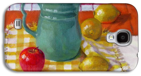 Old Pitcher Paintings Galaxy S4 Cases - Make Lemonade Galaxy S4 Case by Bonnie Mason