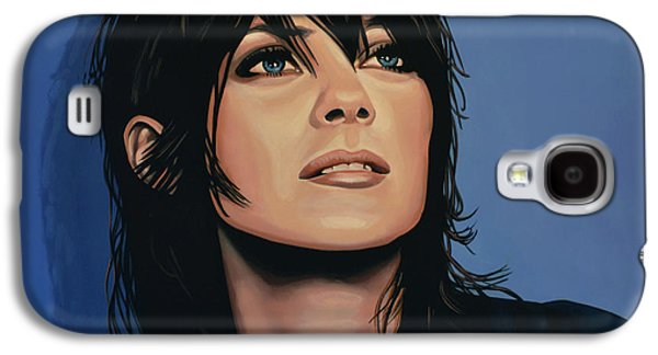 Rust Paintings Galaxy S4 Cases - Marion Cotillard Galaxy S4 Case by Paul  Meijering