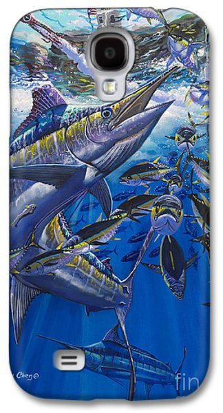 Marlin Galaxy S4 Cases - Marlin El Morro Galaxy S4 Case by Carey Chen
