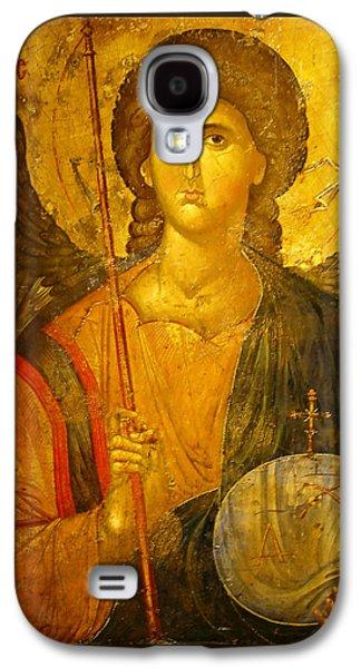 Michael Photographs Galaxy S4 Cases - Michael the Archangel Galaxy S4 Case by Ellen Henneke