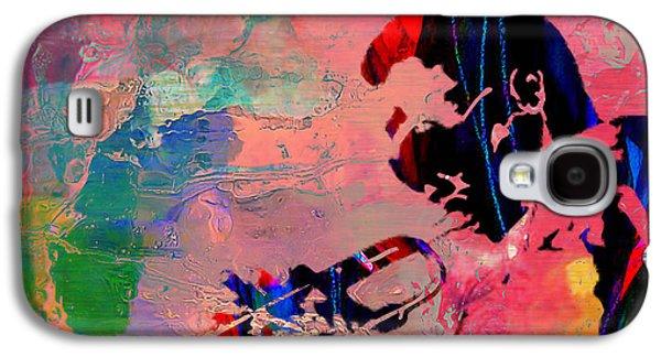 Miles Davis Galaxy S4 Case by Marvin Blaine
