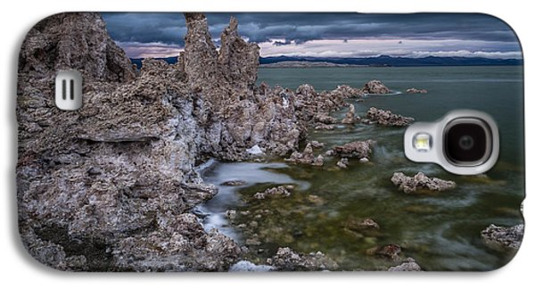 Cloudy Day Galaxy S4 Cases - Mono Lake Galaxy S4 Case by Cat Connor