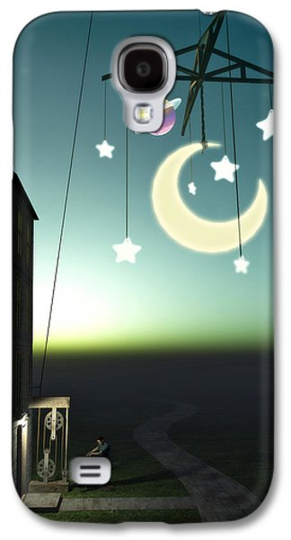 Moonrise Galaxy S4 Case by Cynthia Decker
