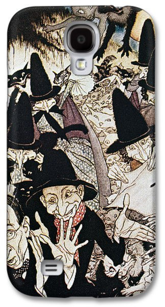 Mother Goose Galaxy S4 Cases - Mother Goose, 1913 Galaxy S4 Case by Granger
