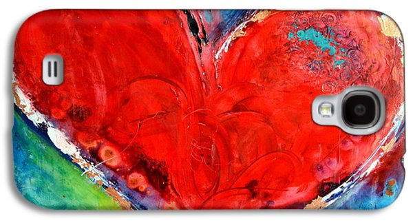 Christian work Paintings Galaxy S4 Cases - Music of the Heart Galaxy S4 Case by Ivan Guaderrama