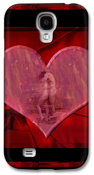 Nudes Digital Galaxy S4 Cases - My Hearts Desire Galaxy S4 Case by Kurt Van Wagner