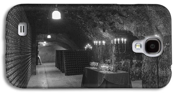 Napa Valley And Vineyards Galaxy S4 Cases - Napa Valley Wine Cave Galaxy S4 Case by Mountain Dreams