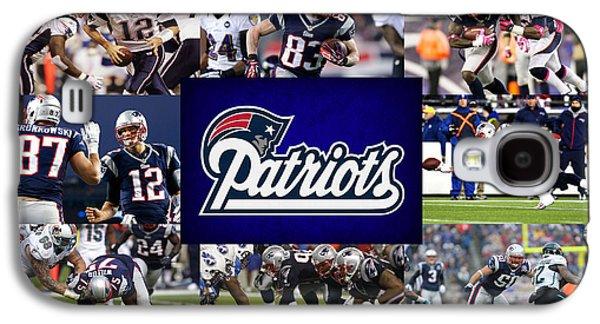 Patriots Galaxy S4 Cases - New England Patriots Galaxy S4 Case by Joe Hamilton