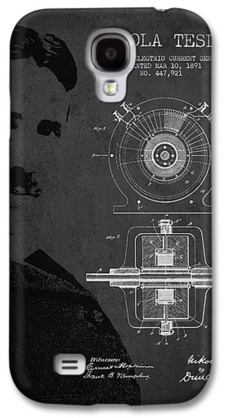 Nikola Tesla Patent From 1891 Galaxy S4 Case by Aged Pixel