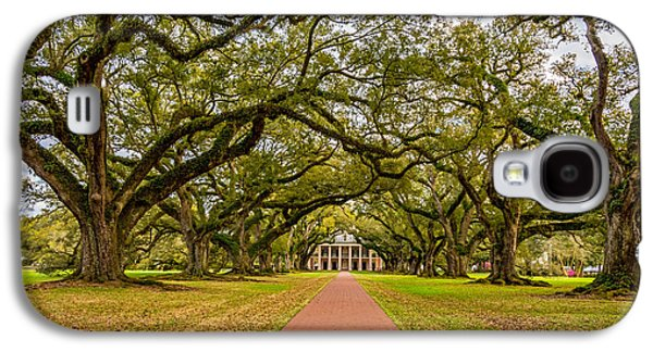 Slaves Galaxy S4 Cases - Oak Alley Plantation Galaxy S4 Case by Steve Harrington