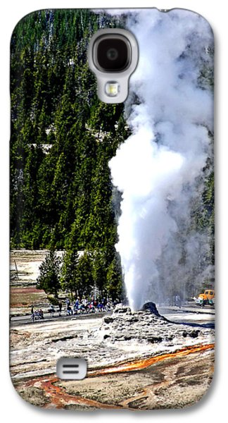 Timing Galaxy S4 Cases - Old Faithful Galaxy S4 Case by Dan Sproul